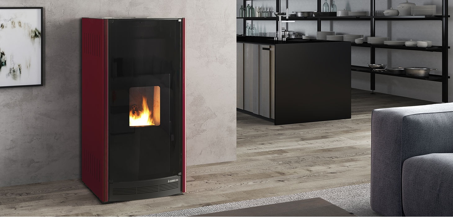 HYDRO-VENTILATED PELLET STOVES